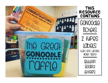 The Great GoNoodle Raffle - Positive Behavior Intervention