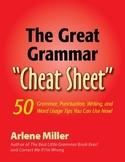 The Great Grammar Cheat Sheet