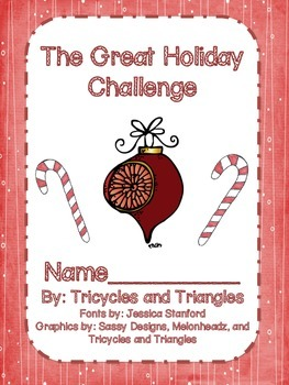 The Great Holiday Challenge- Grades 1-3