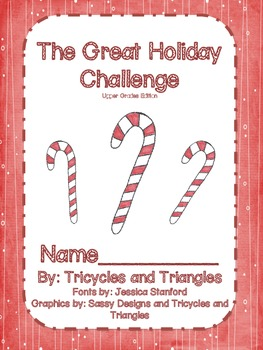 The Great Holiday Challenge- Grades 3-6