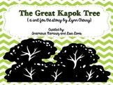 The Great Kapok Tree~a One Week Reading Unit for the story