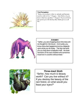 The Great Kapok Tree - Animal Roles