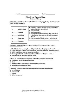 The Great Kapok Tree CCG