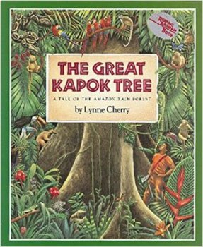 The Great Kapok Tree Cause and Effect Notes with Rainforest Layer Activity