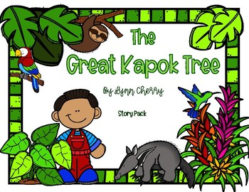 The Great Kapok Tree Common Core Book Study