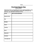 The Great Kapok Tree Graphic Organizer