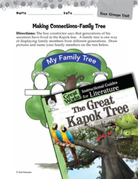 The Great Kapok Tree Making Cross-Curricular Connections