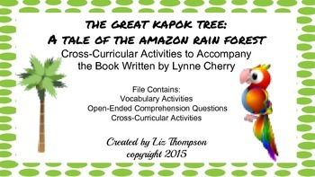 The Great Kapok Tree Mini Unit