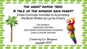 The Great Kapok Tree Mini Unit
