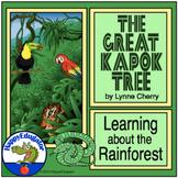 The Great Kapok Tree Rainforest Unit Resources w/ Digital