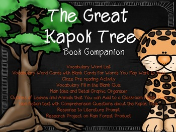 The Great Kapok Tree Reading Companion