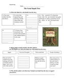 The Great Kapok Tree Sequencing Reading Questions