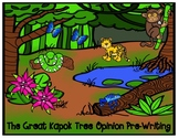 The Great Kapok Tree Text Based Opinion Pre-Writing Graphi