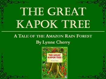 The Great Kapok Tree by Cherry, Collaborative Conversations Text Talk
