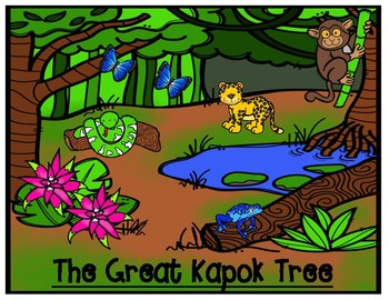 The Great Kapok Tree by Lynn Cherry Impact on the Environment Graphic Organizer