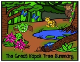 The Great Kapok Tree by Lynn Cherry Summary Graphic Organizer