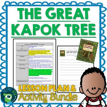 The Great Kapok Tree by Lynne Cherry Lesson Plan and Activities