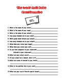 The Great Mail Race Questionnaire