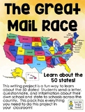 The Great Mail Race - Writing Project to Learn about the 50 States!