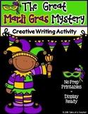 The Great Mardi Gras Mystery ~ Creative Writing Activity