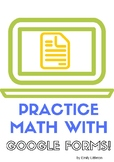 The Great Winter Math Adventure with google forms