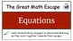 The Great Math Escape - Algebra Bundle