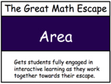 The Great Math Escape - Area