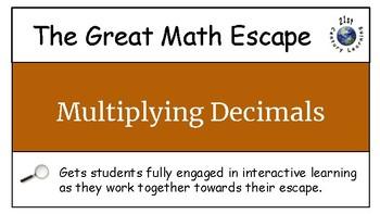 The Great Math Escape - Decimals Bundle