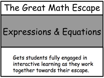 The Great Math Escape - Equations & Inequalities