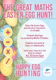 The Great Maths Easter Egg Hunt | MATHS ACTIVITY