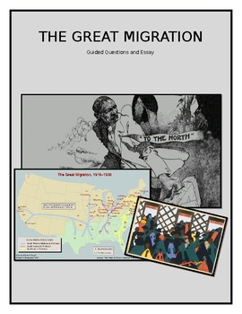 The Great Migration DBQ and Essay Activity