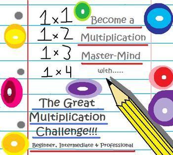 The Great Multiplication Challenge Downloadable ZIP
