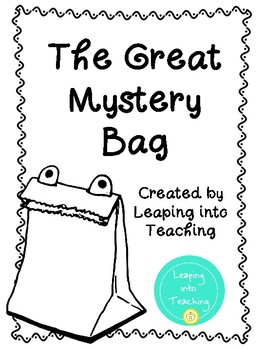 The Great Mystery Bag