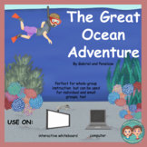 Interactive Book for Speech Therapy:  Ocean Animals