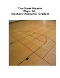 The Great Ontario Phys. Ed. Teachers' Resource- Grade 8 sample
