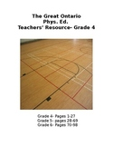 The Great Ontario Phys. Ed. Teachers' Resource- Grades 4-6 Bundle