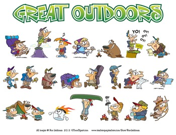 The Great Outdoors Cartoon Clipart
