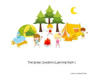 The Great Outdoors Learning Pack