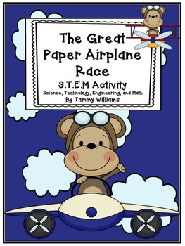 The Great Paper Airplane Race STEM Activity
