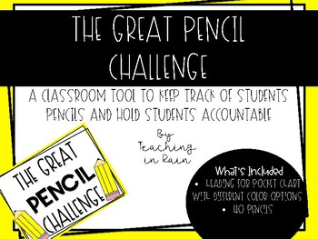 The Great Pencil Challenge