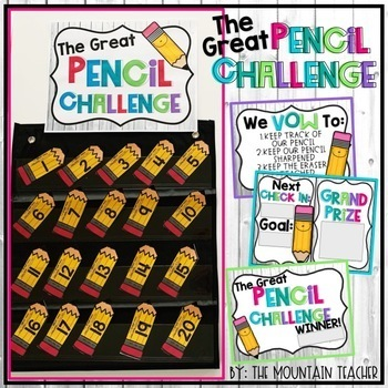 The Great Pencil Challenge (Editable)