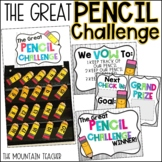 The Great Pencil Challenge Editable