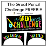 The Great Pencil Challenge: Posters and Record Sheets