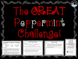 The Great Peppermint Challenge ~ STEM activity