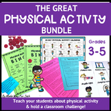 Physical Activity Challenge and Log | Reading Comprehension| Bingo| Printables