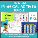 Physical Activity Log and Challenge, Exercise Cards, Healt