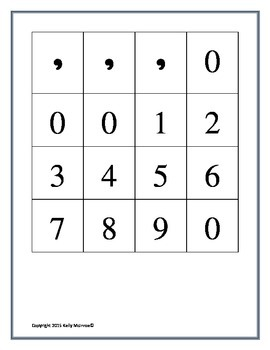 Into the Millions Place Value Game