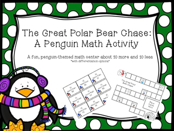 The Great Polar Bear Chase: A Penguin Math Activity