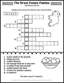 The Great Potato Famine Multi-Level Reading Passage