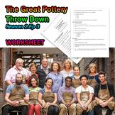 The Great Pottery Throw Down Raku Worksheet S2E3